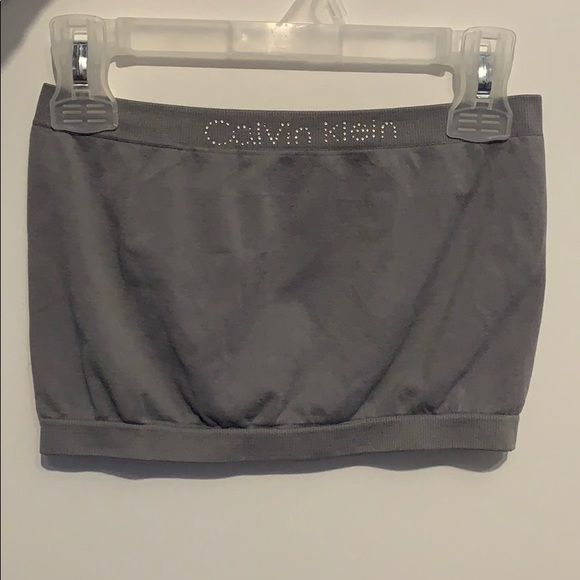 Grey Calvin Klein bandeau